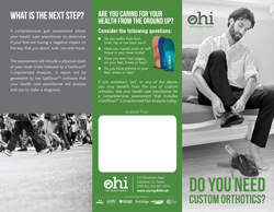 OHI International Custom Orthotics GaitScan Brochure
