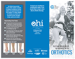 OHI International Patient Footcare Brochure